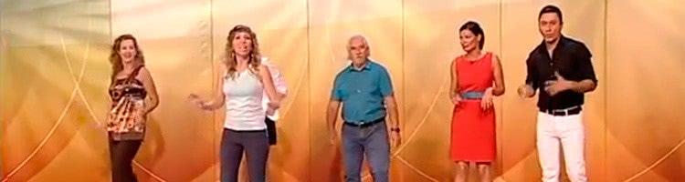 Clase de Baile Fitness en el programa Sinir más lejos de Antena Aragón