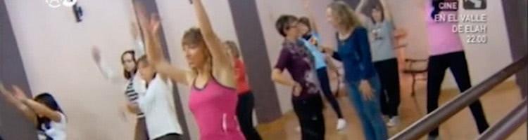 Clase de Baile Fitness en Antena Aragón