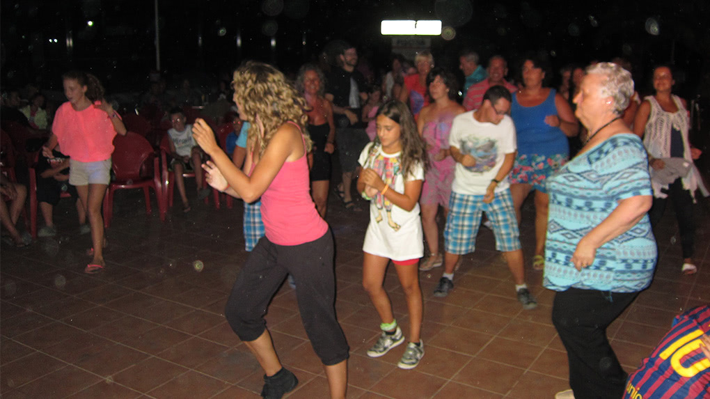 Fiesta de Baile en Camping L´Aube