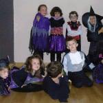 Clase de Baile Moderno para niños el día de Halloween