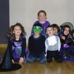 Clase de Baile Moderno para niños el día de Halloween en Escuela de Baile el Almacén