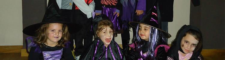 Clase de Baile Moderno Infantil en Halloween
