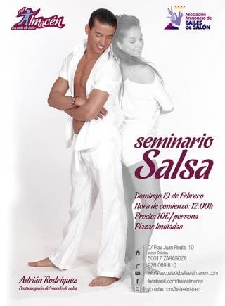 I Masterclass de salsa con Adrián y Anita
