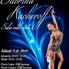 I Masterclass salsa pasos libres Sabrina Kacheroff