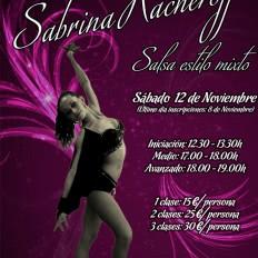 II Masterclass salsa pasos libres Sabrina Kacheroff