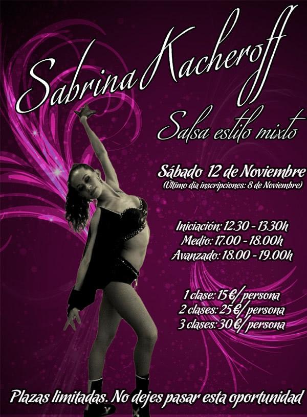 II Masterclass Pasos Libres de Salsa con Sabrina Kacheroff