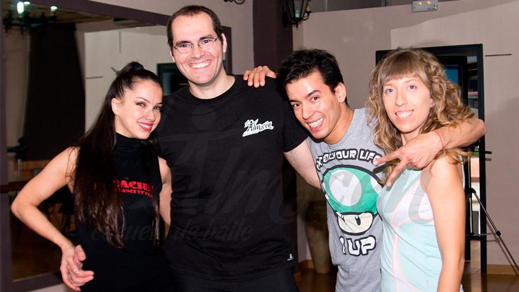 II Masterclass Salsa en Línea de Adrián y Anita