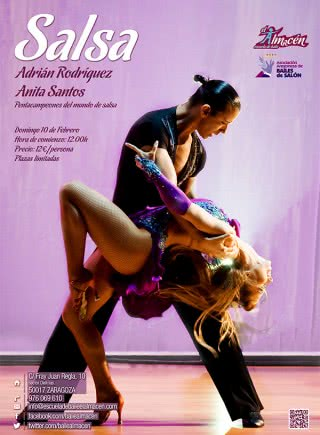 II Masterclass de salsa con Adrián y Anita
