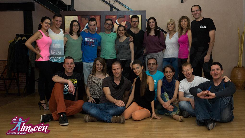 II Masterclass de Bachata Sensual con Toni y LaraEscuela de Baile el Almacén