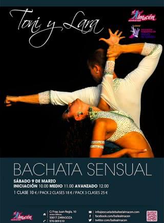 I Masterclass de Bachata Sensual de Toni y Lara. Escuela de Baile el Almacén