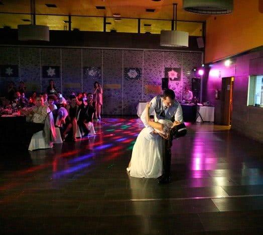 Baile nupcial. Raul y Silvia. Salsa y Bachata