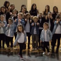 Grupo de alumnos de Baile Moderno y Hip Hop de las Escuela de Baile el Almacén