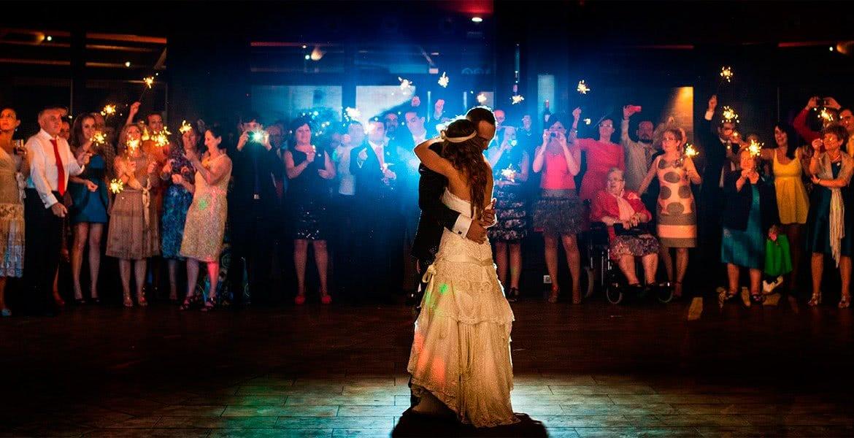 Baile de Novios de Oscar y Estela. Escuela de Baile el Almacén