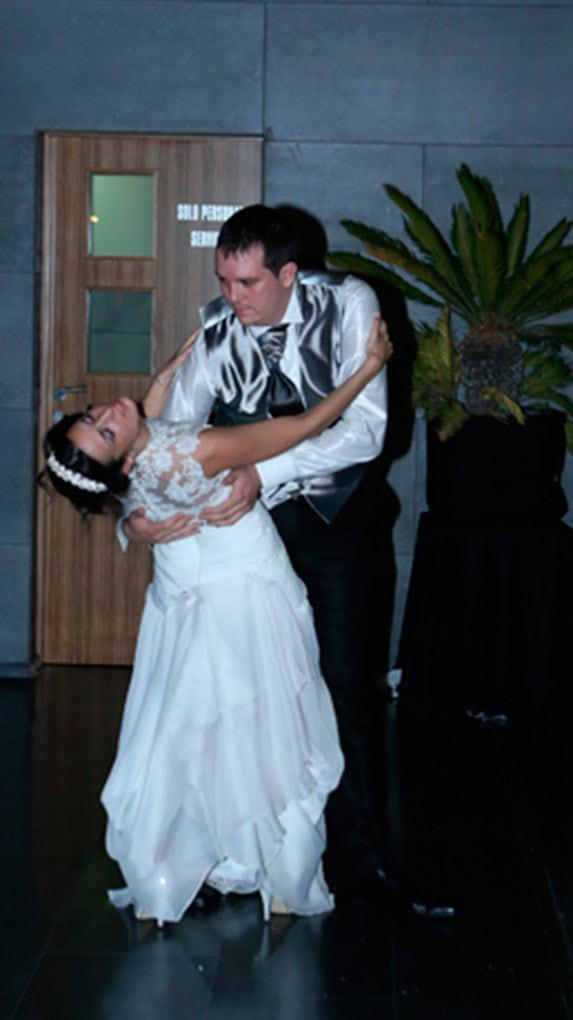 Baile Nupcial de Raul y Silvia. Escuela de Baile el Almacén