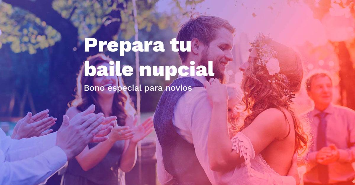 Promoción baile para novios