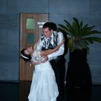 Baile Novios de Raul y Silvia. Escuela de Baile el Almacén