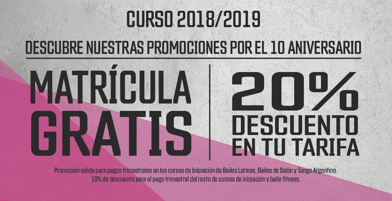 Promociones curso 2018-2019