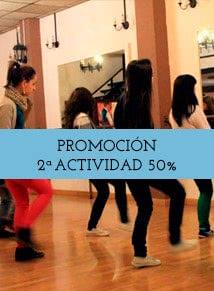 Promoción: Tu segundo curso de baile al 50% de descuento