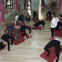 Clase de lírico en Escuela de Baile el Almacén, Zaragoza