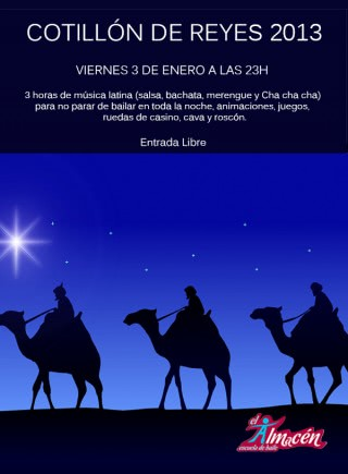 Cotillón de Reyes 2014