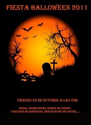 Fiesta de Halloween 2011