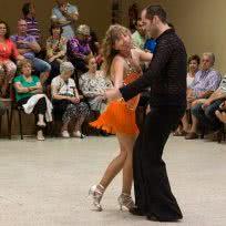 Exhibición de Baile en Ricla
