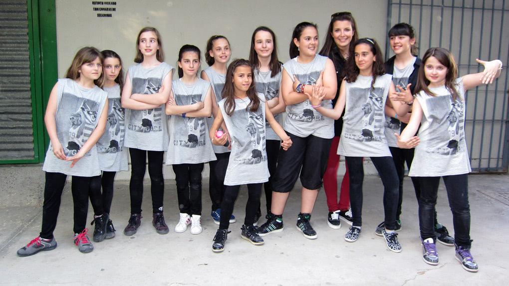 Exhibición Hip hop en Espacio Jovén de Utebo
