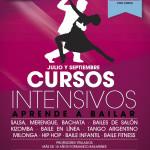cartel cursos de baile intensivos verano 2015