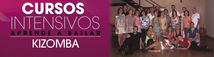 Curso Intensivo de Kizomba en Escuela de Baile el Almacén. Zaragoza