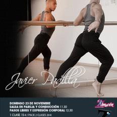 Masterclass de salsa con Javier Padilla