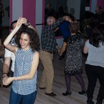 Cena de Navidad Escuela de Baile el Almacén 2014