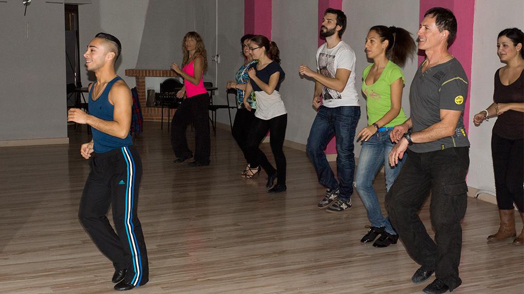 Masterclass de salsa con Javier Padilla en Escuela de Baile el Almacén