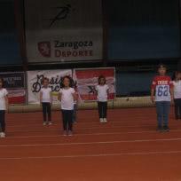 Exhibición de baile moderno infantil de Escuela de Baile el Almacén en el III Certamen de Primavera