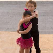 Exhibicion de bachata niños de Escuela de Baile el Almacén Zaragoza
