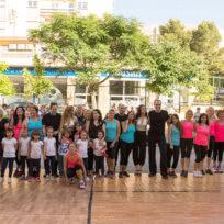 Exhición de baile de la Escuela de Baile el Almacén en Zaragoza
