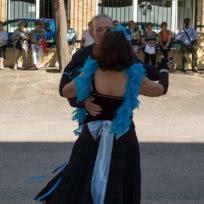 Exhibición de Bailes de Salón de la Escuela de Baile el Almacén en Zaragoza