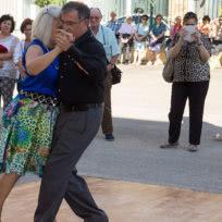 Exhibición de Milonga de Escuela de Baile el Almacén en Zaragoza