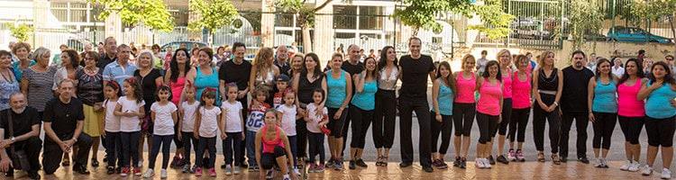 Exhibición de Baile de la EScuela de Baile el Almacén en Zaragoza