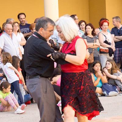 Exhibición de Tango Argentino de Escuela de Baile el Almacén en Zaragoza