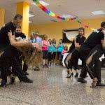 Exhibición de Bachata Sensual, de Escuela de Baile el Almacén, en Zaragoza.