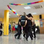 Exhibición de rueda de salsa cubana , de Escuela de Baile El Almacén, en Zaragoza