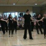 Exhibición de Bailes Latinos (salsa, bachata y rueda de salsa) de la Escuela de Baile el Almacén.