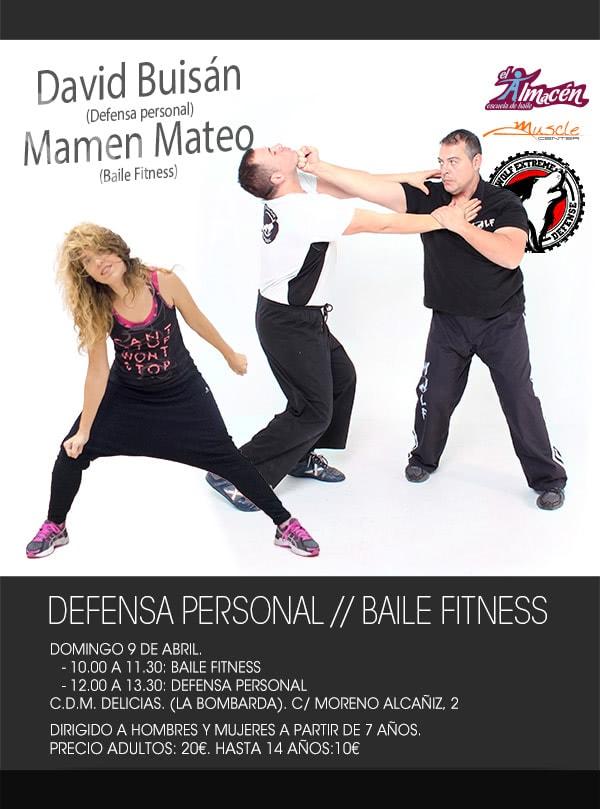 Taller de defensa personal y Baile fitness
