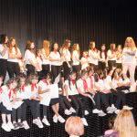 Entrega de diplomas a los grupos de Hip hop, Baile moderno, Lírico y Baile Latino infantil.