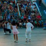 Exhibición de Salsa en Puerto Venecia Baila, por Escuela de Baile el Almacén en Zaragoza