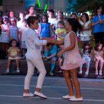 Exhibición de Salsa en Puerto Venecia Baila, por Escuela de Baile el Almacén.