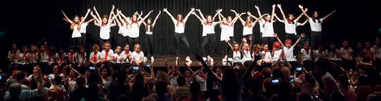 Exhibicón de Baile de fin de curso de Escuela de Baile el Almacén, Zaragoza.