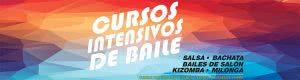 Cursos intensivos de verano: salsa, bachata, kizomba, baile fitness y milonga.