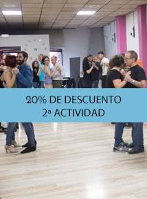 Promoción: Tu segundo curso de baile con el 20% de descuento