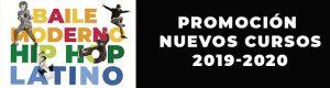 Promoción Cursos de Danzas Urbanas, Baile moderno y Baile Latino para niños.